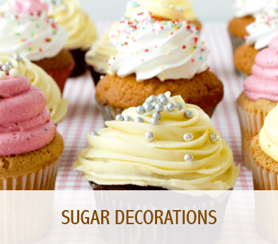Sugar decorations