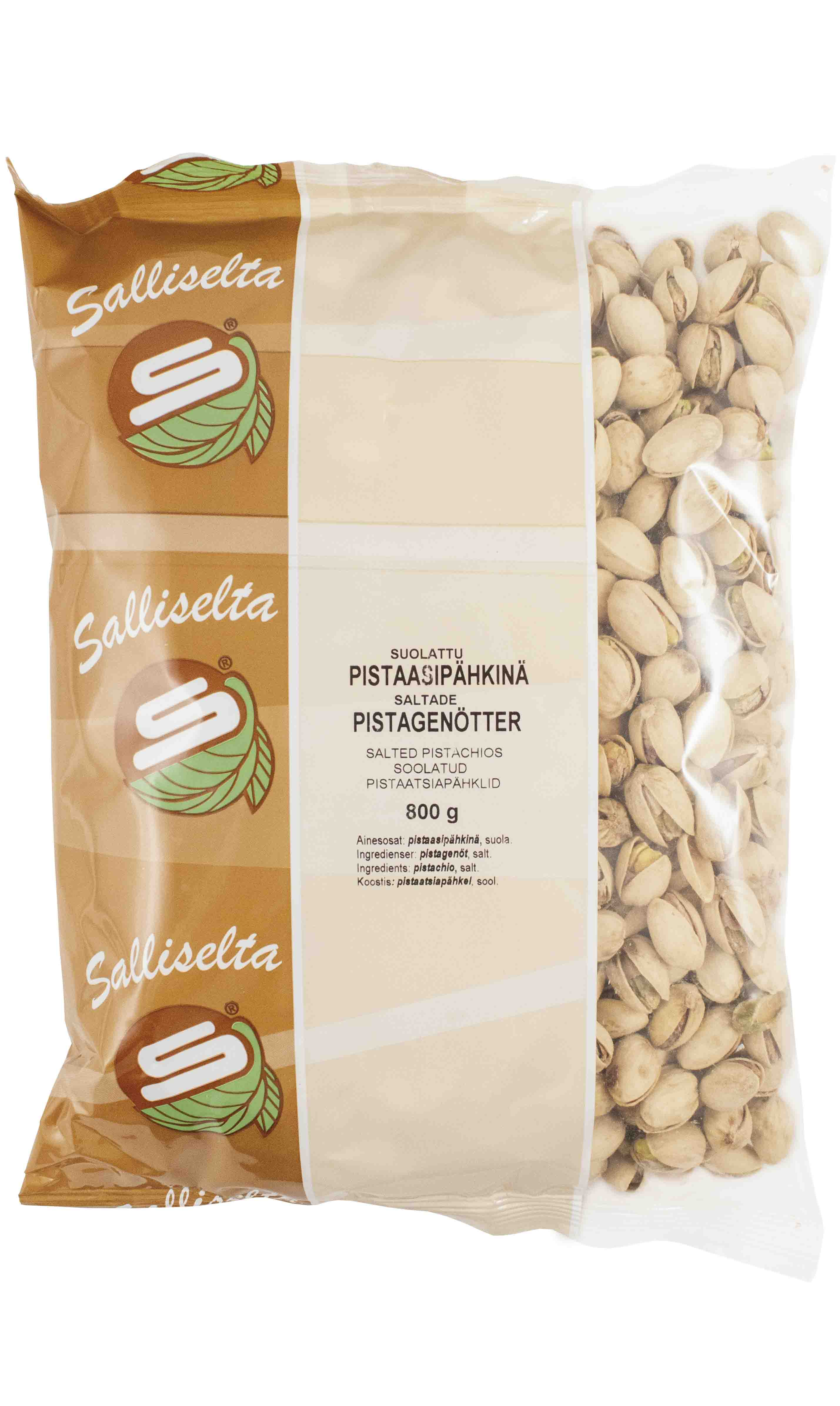 Pistachios salted 800g