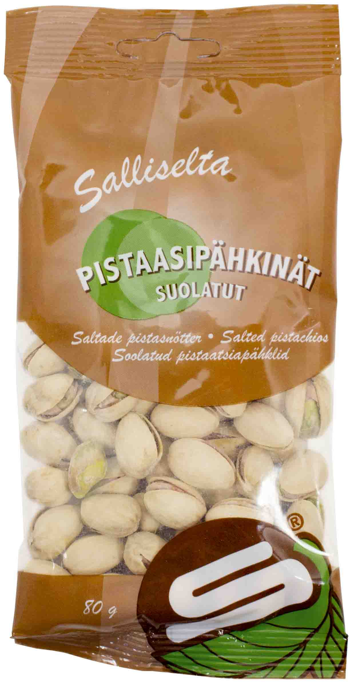Pistachios salted 80g