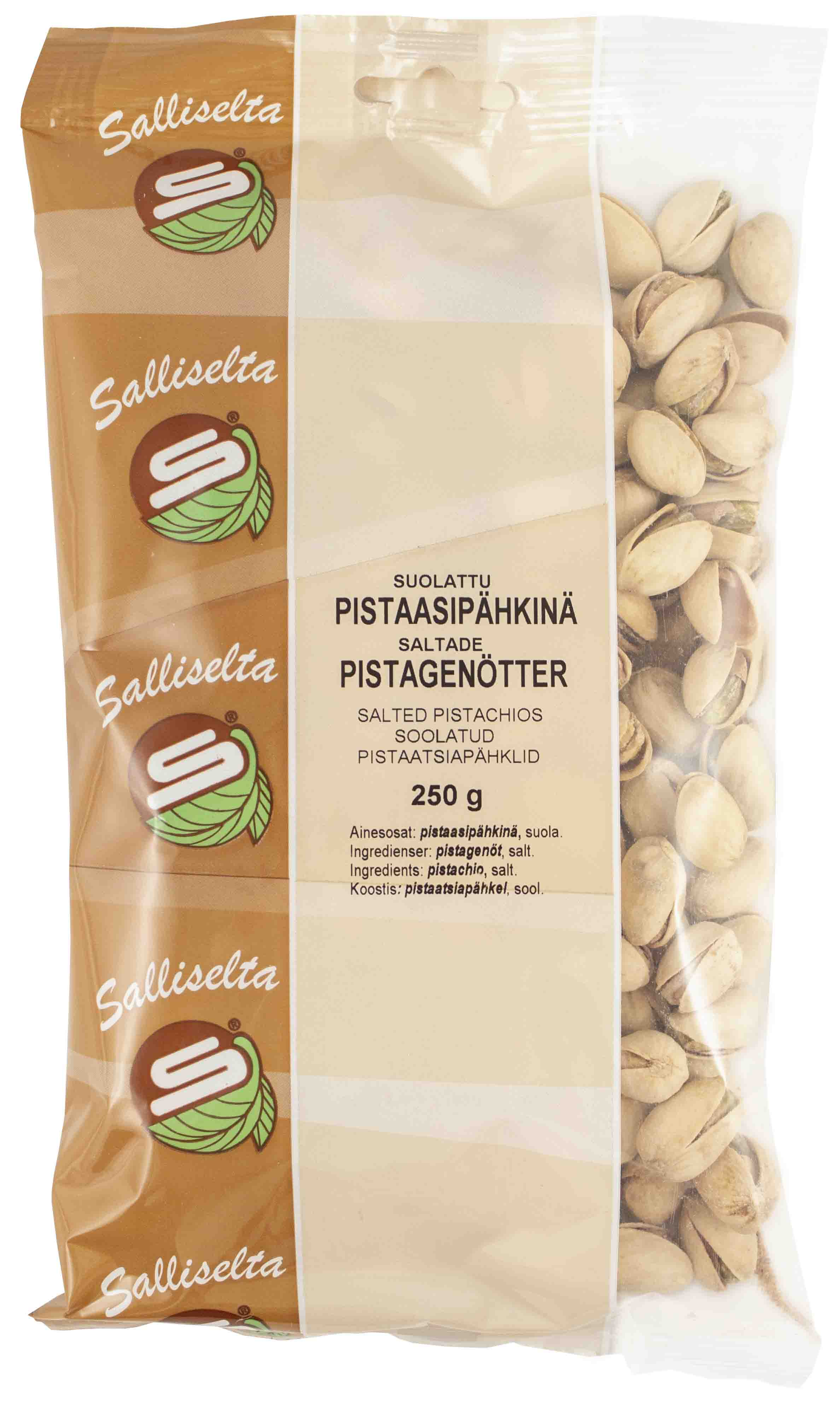 Pistachios salted 250g